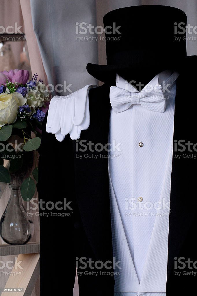 suit three stock photo