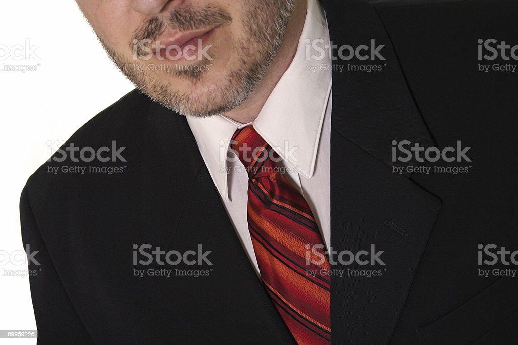 Suit & Tie royalty-free stock photo