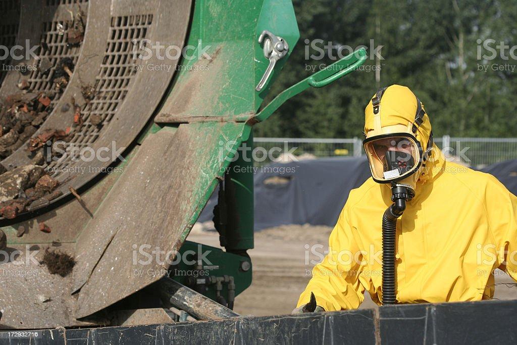 suitable respiratory equipment royalty-free stock photo