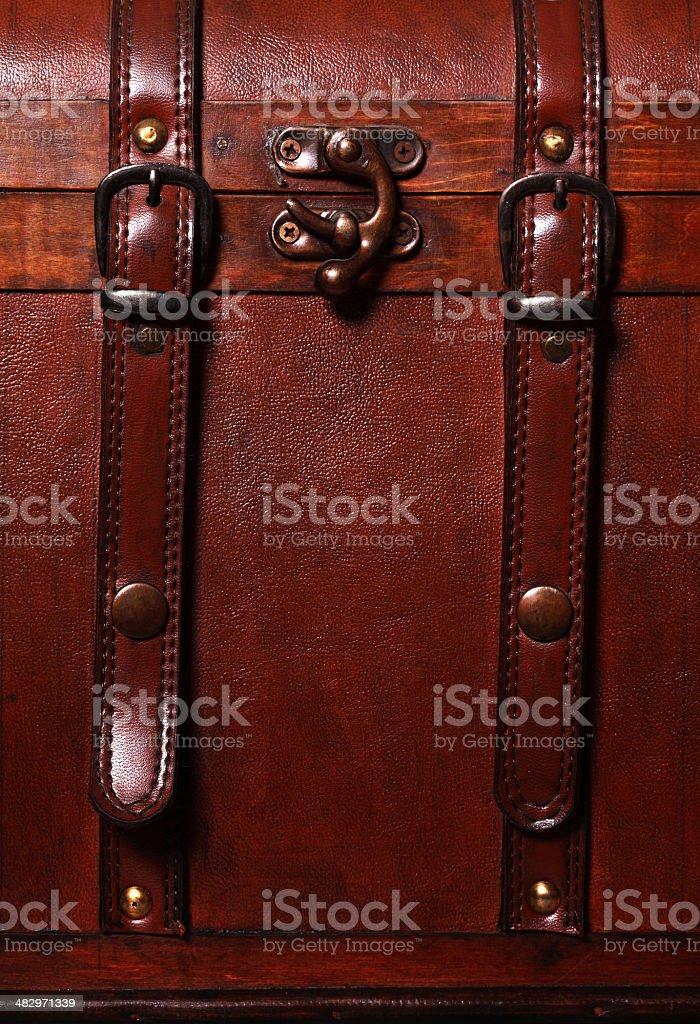 Suitcase detail royalty-free stock photo
