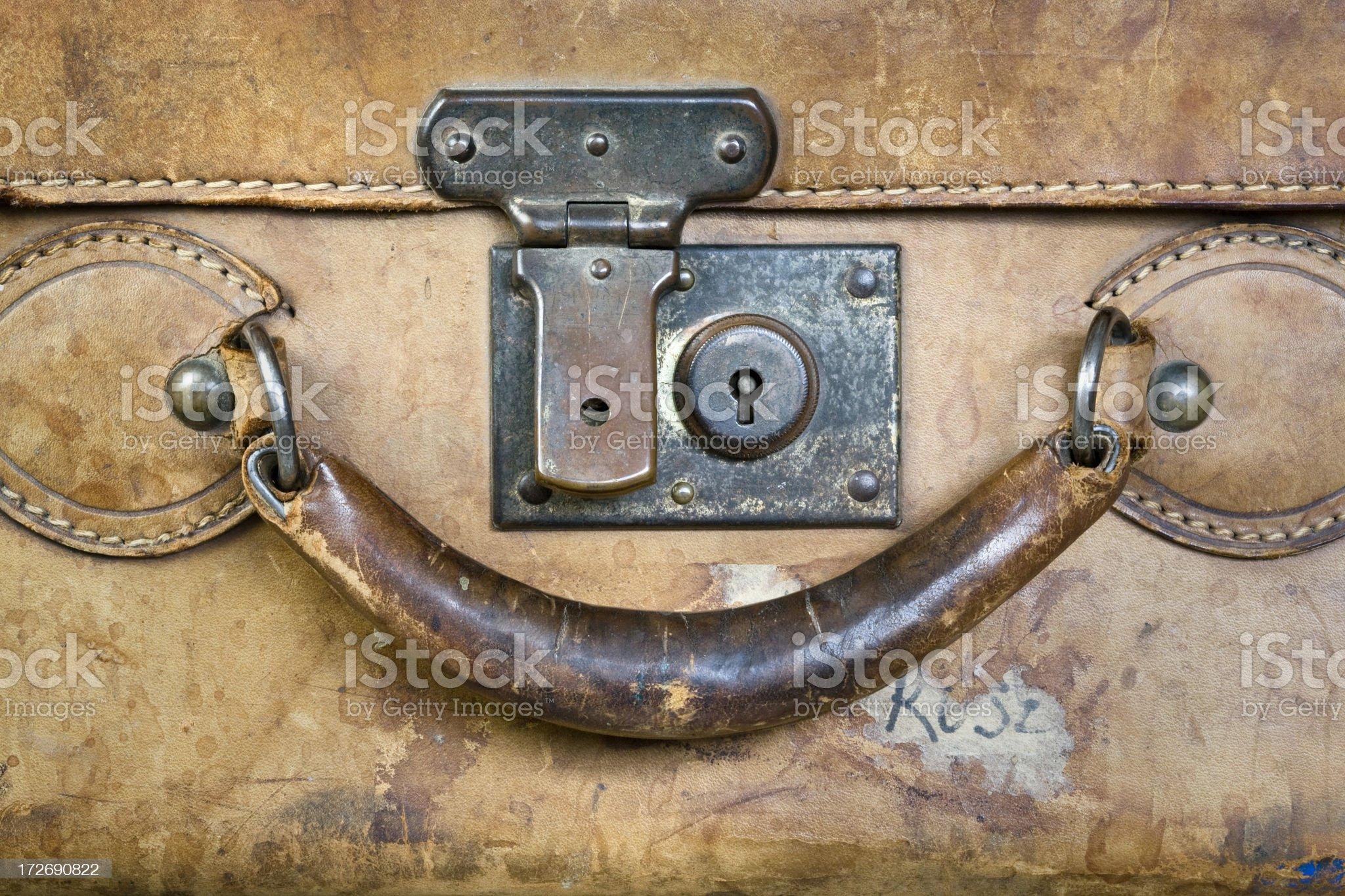 Suitcase Handle royalty-free stock photo