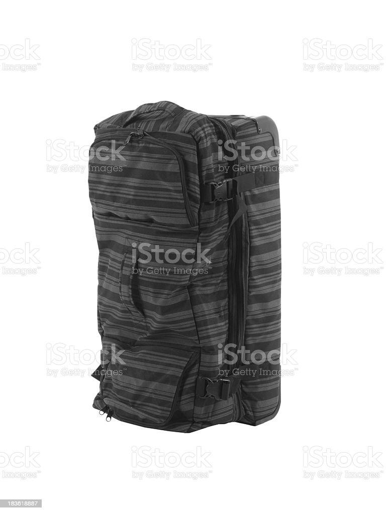 suitcase isolated on white background stock photo