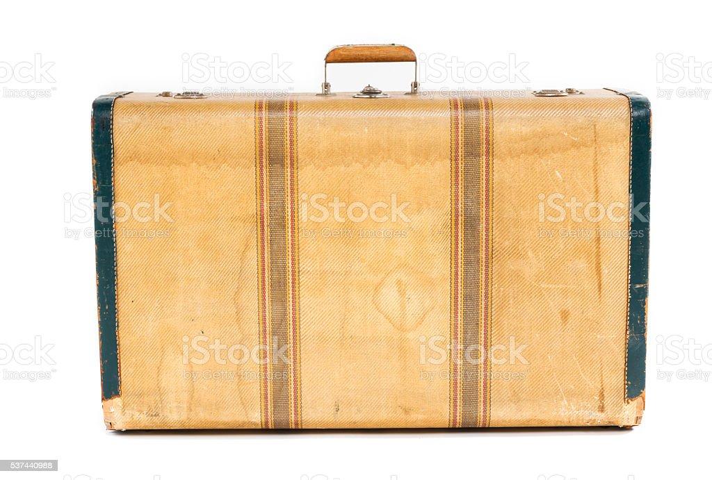 Suitcase Isolated stock photo