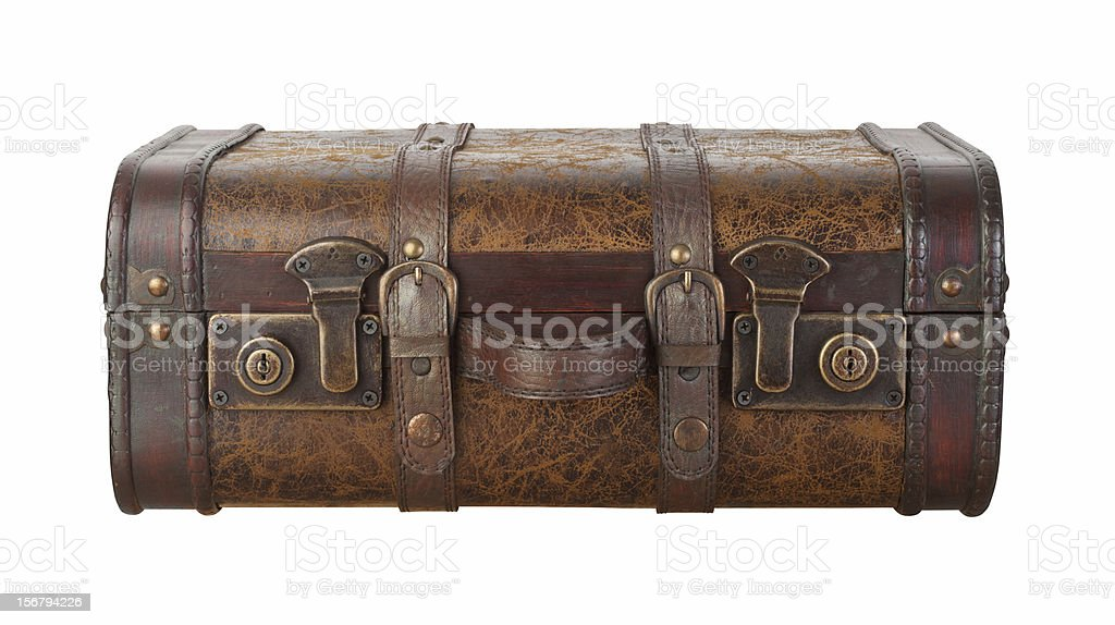 Suitcase Latches Isolated with clipping path royalty-free stock photo