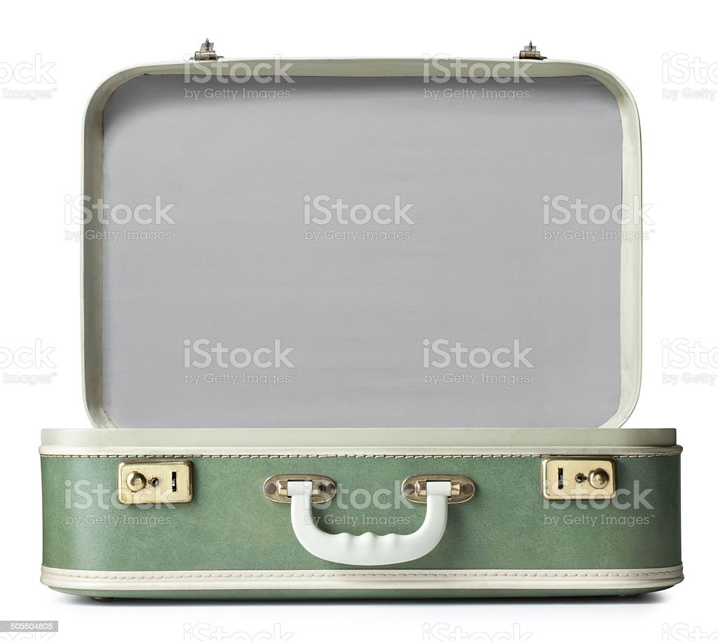 Suitcase stock photo