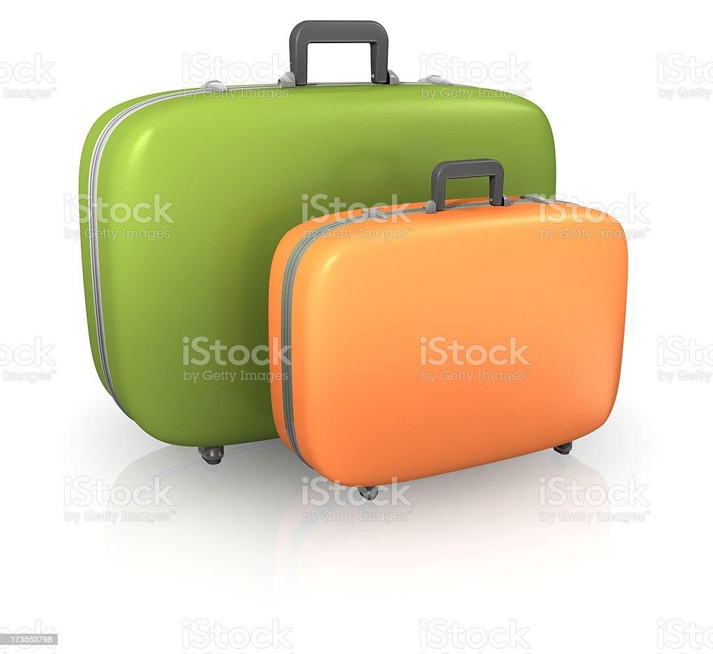 スーツケース ロイヤリティフリーストックフォト