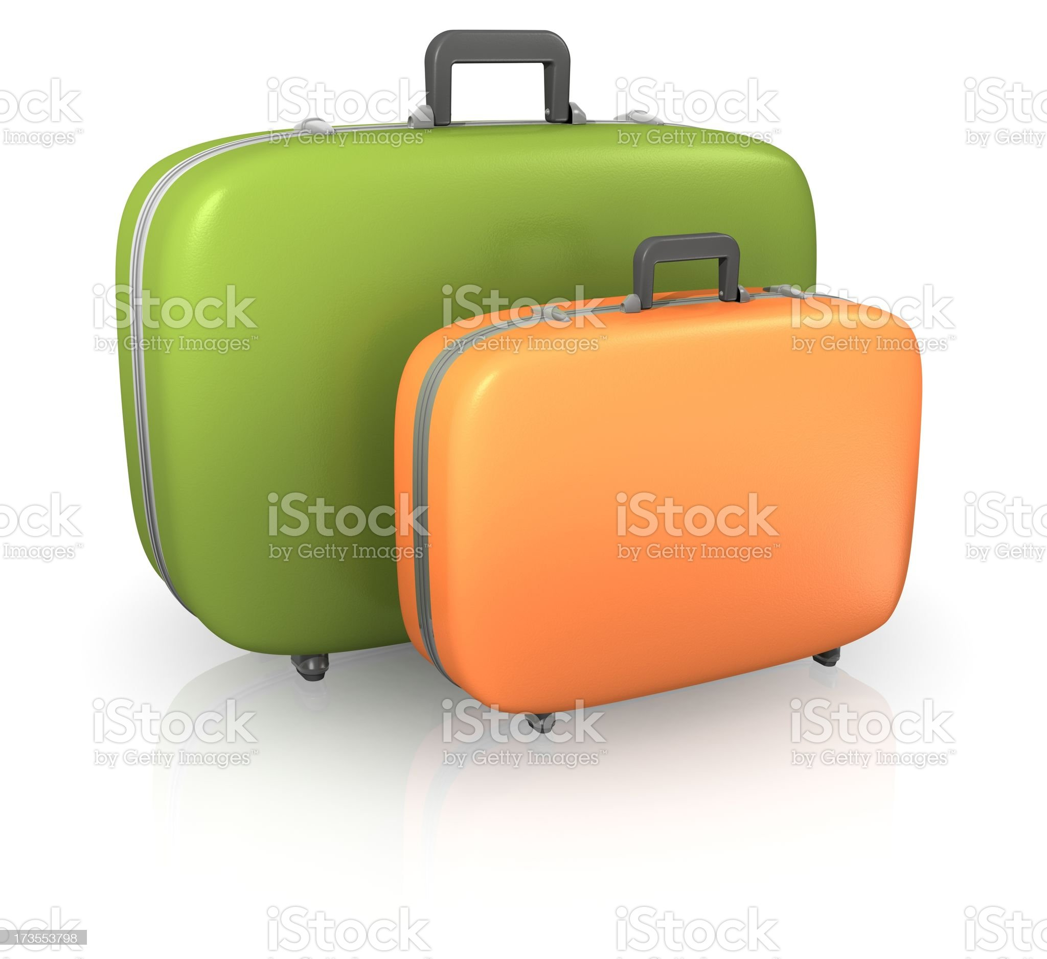Suitcases royalty-free stock photo