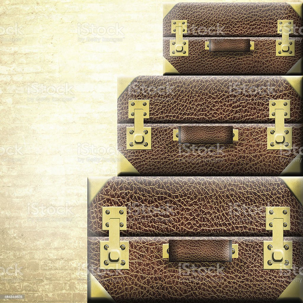 Suitcases. Travel concept. royalty-free stock photo