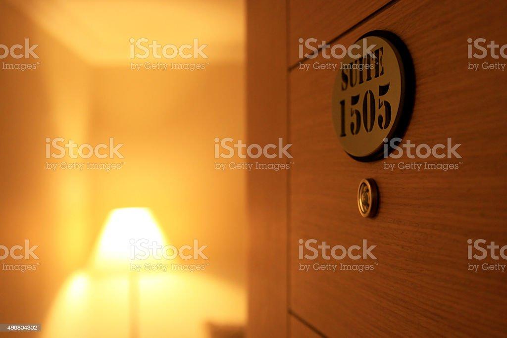 Suite room stock photo