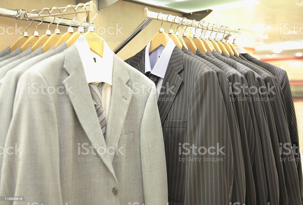 Suits for Sale royalty-free stock photo