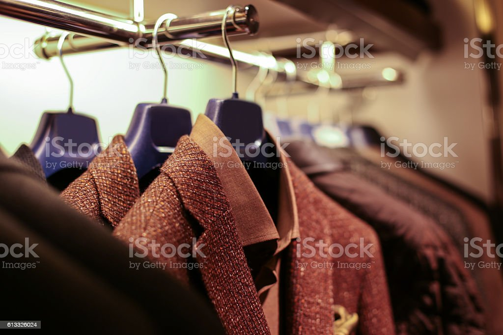 Suits for Sale stock photo