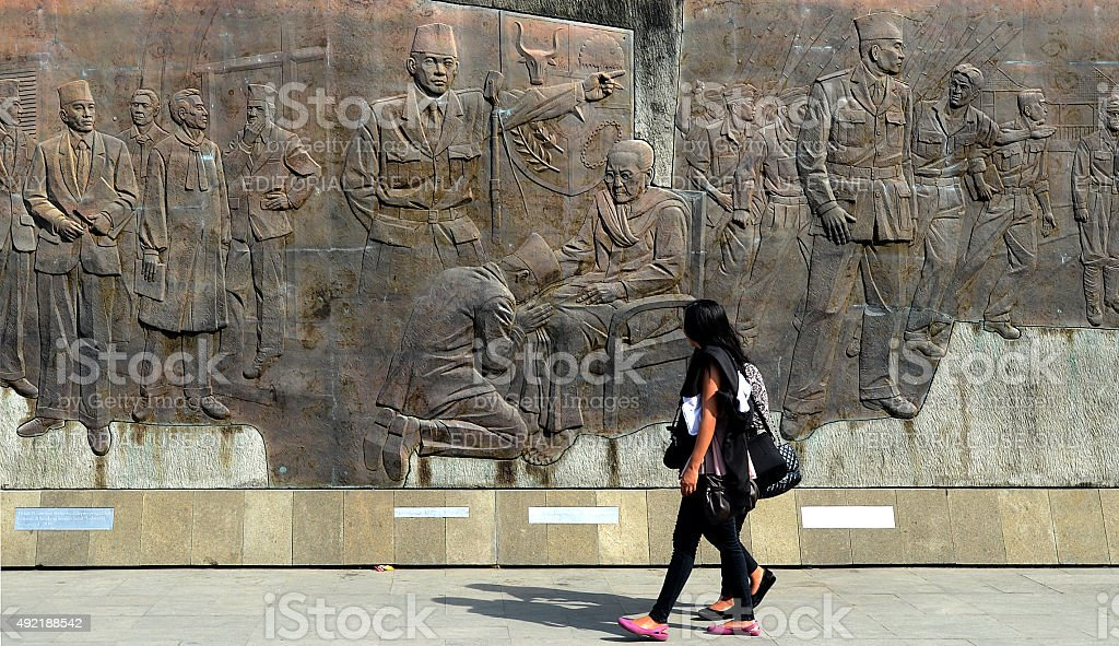 Sukarno Indonesia stock photo