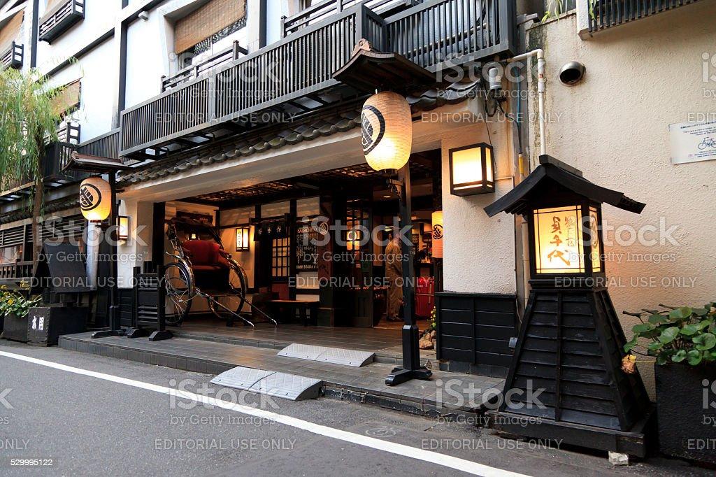 Sukeroku-no-yado Sadachiyo stock photo