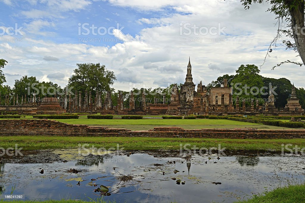 Sukhothai Historical Park royalty-free stock photo