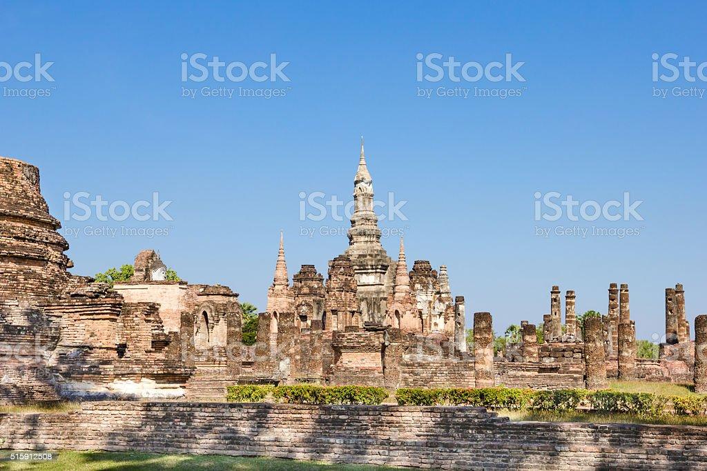 Sukhothai historical park, Sukhothai, Thailand stock photo
