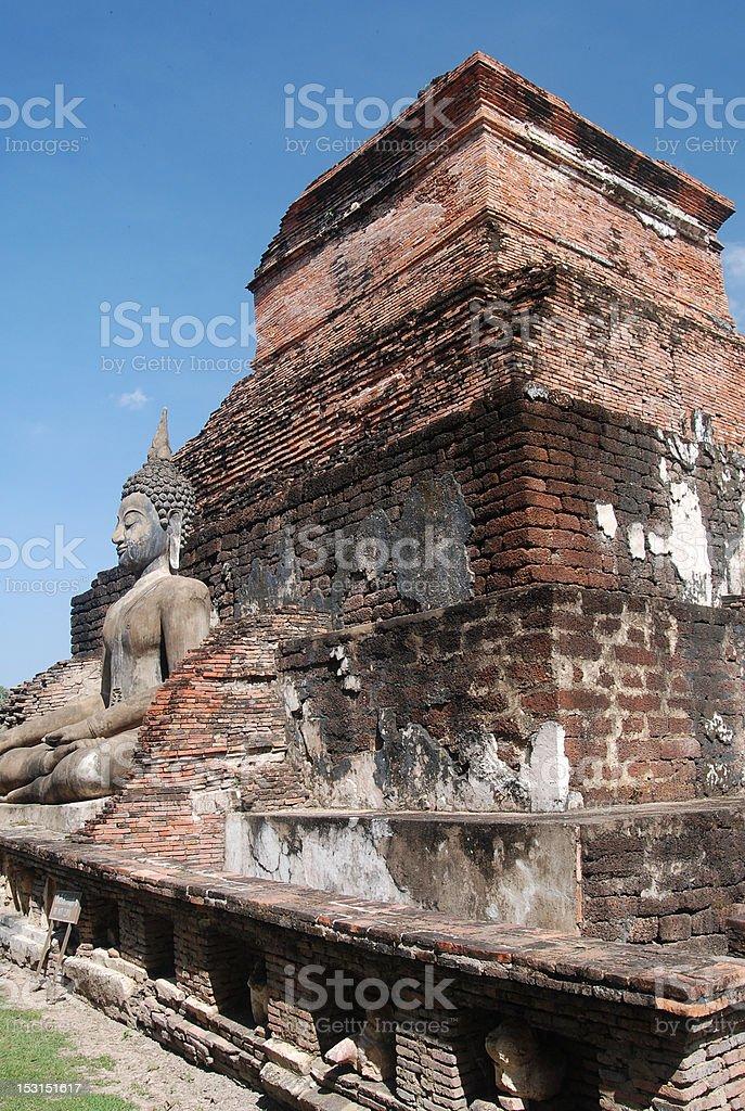 Sukhothai royalty-free stock photo