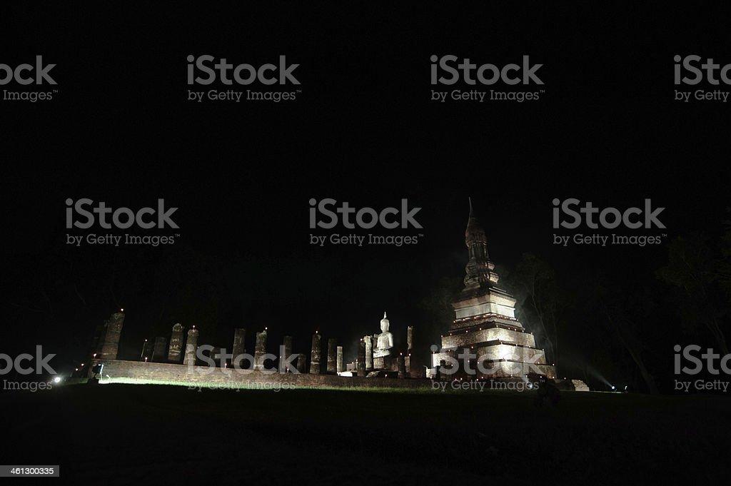 Sukhothai zbiór zdjęć royalty-free