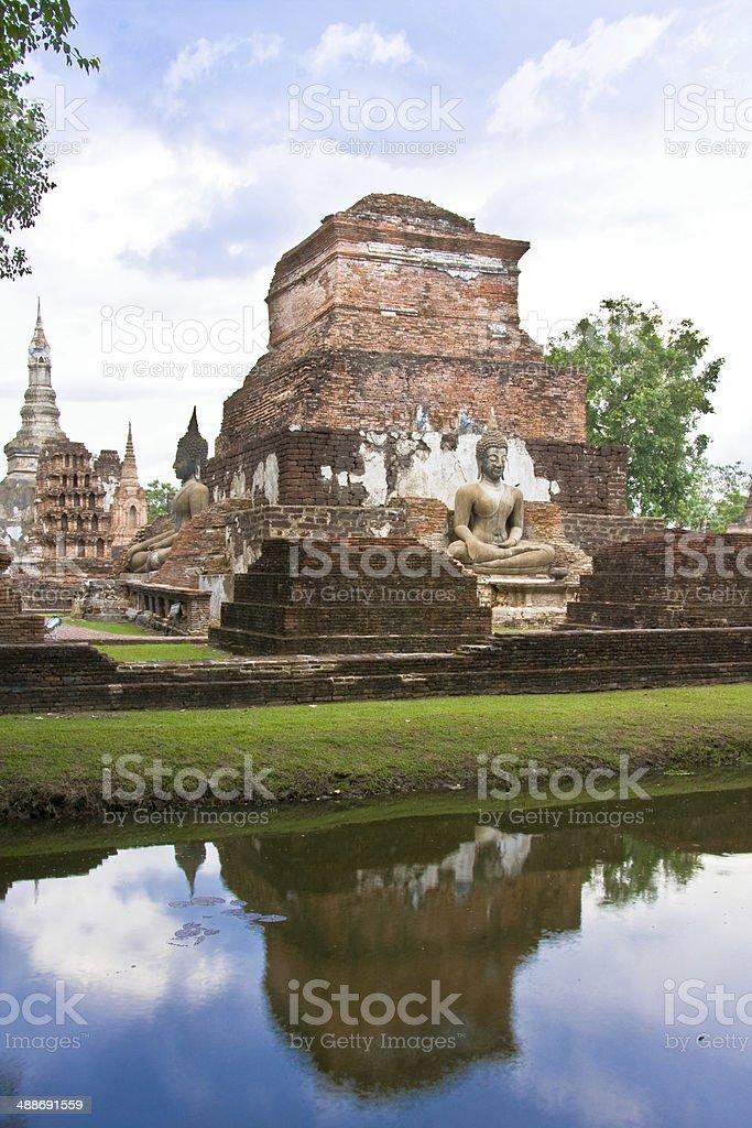Sukhothai stock photo