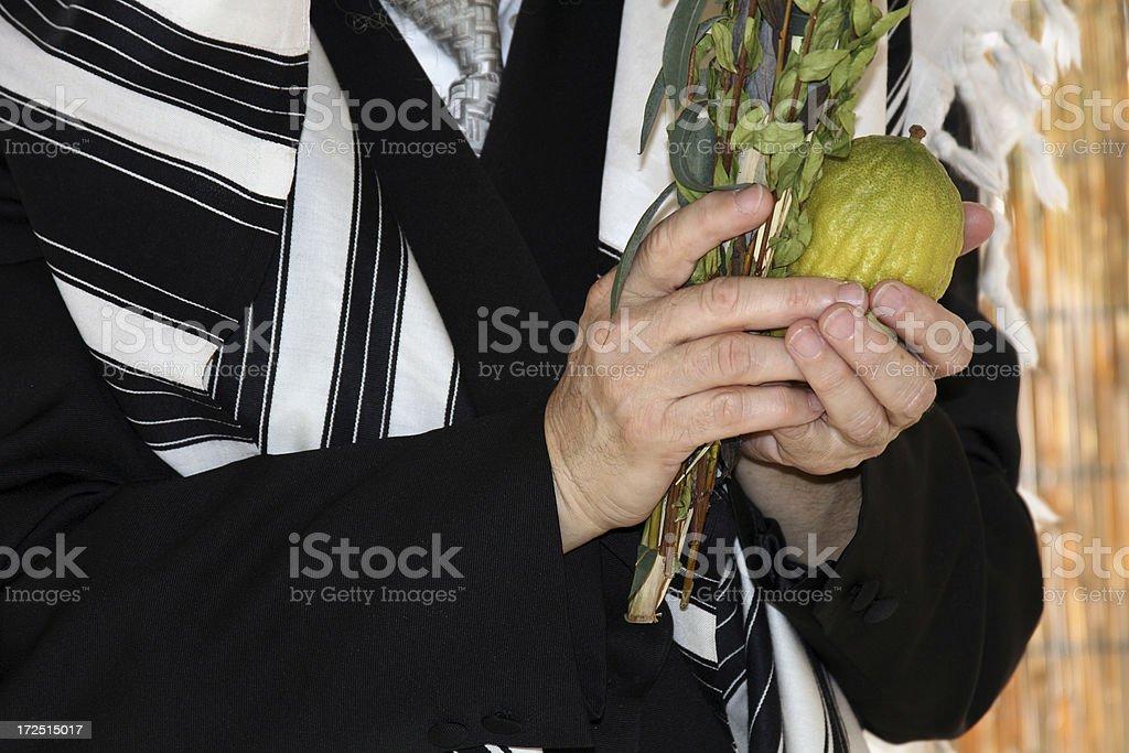 Sukkot Tradition stock photo