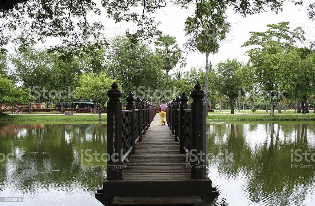 sukothai bridge royalty-free stock photo