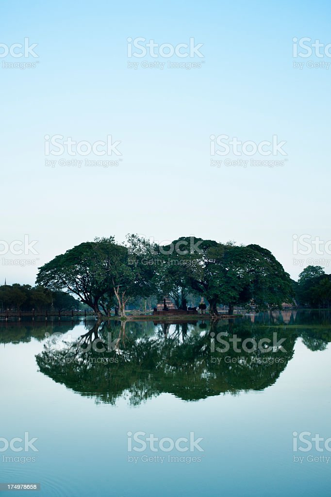 Sukothai Historical Park Thailand royalty-free stock photo