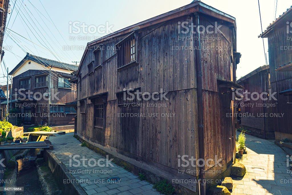 Sukunegi Village stock photo