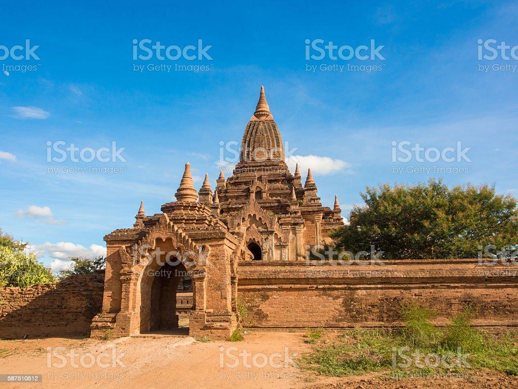 Sulamani Temple in Bagan, Myanmar stock photo