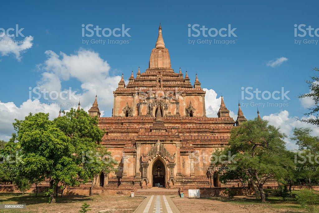 Sulamani temple the gem of Bagan. stock photo