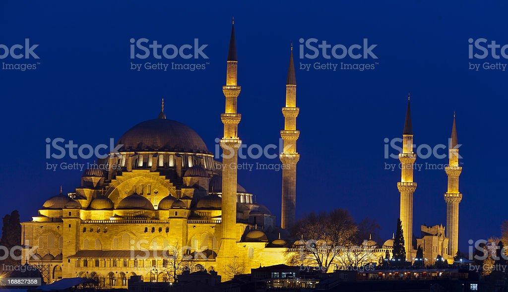 Suleimaniye mosque (Estanbul,Turkey) stock photo