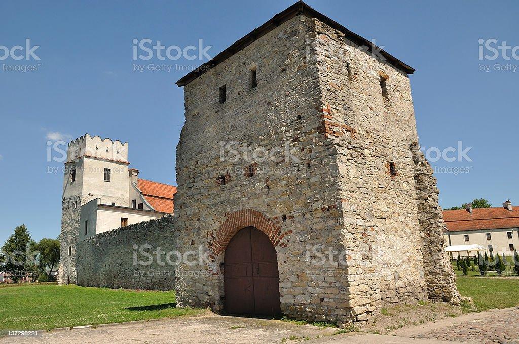 Sulejov Abbey (Mazovia, Poland) stock photo