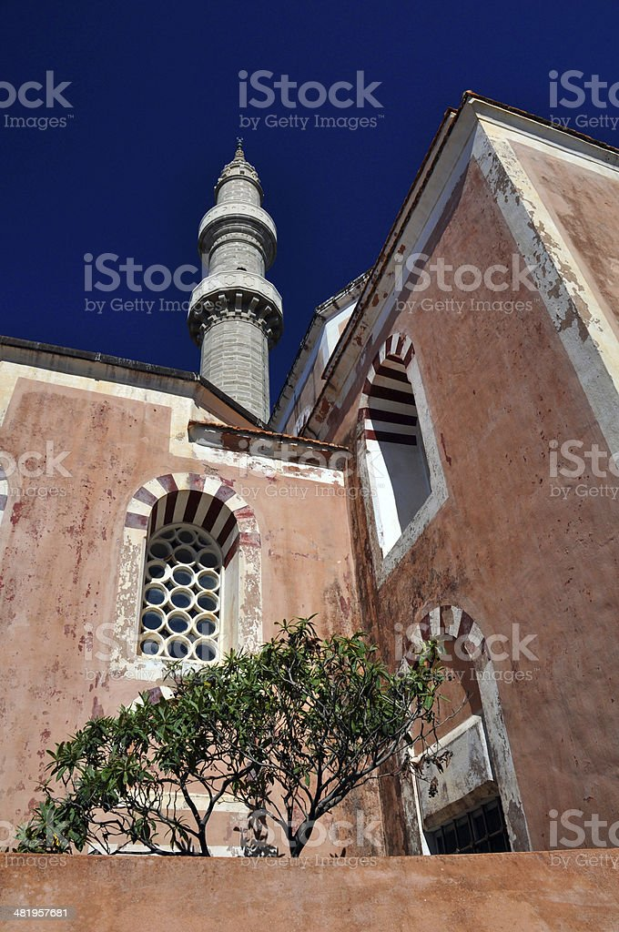 Suleyman Mosque stock photo