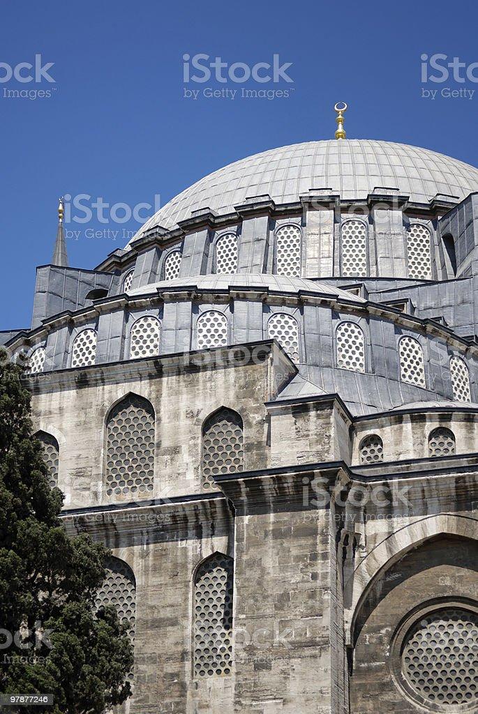 Suleymaniye Camii royalty-free stock photo