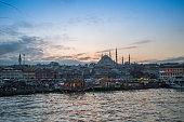 Suleymaniye Mosque in Eminonu