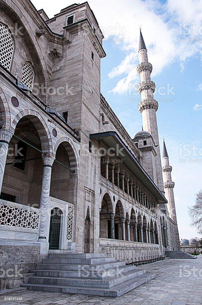 Suleymaniye Mosque in Turkey stock photo