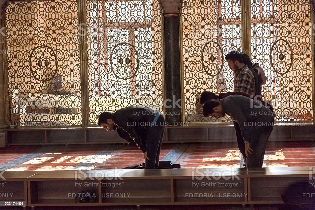 Suleymaniye Mosque, Istanbul stock photo