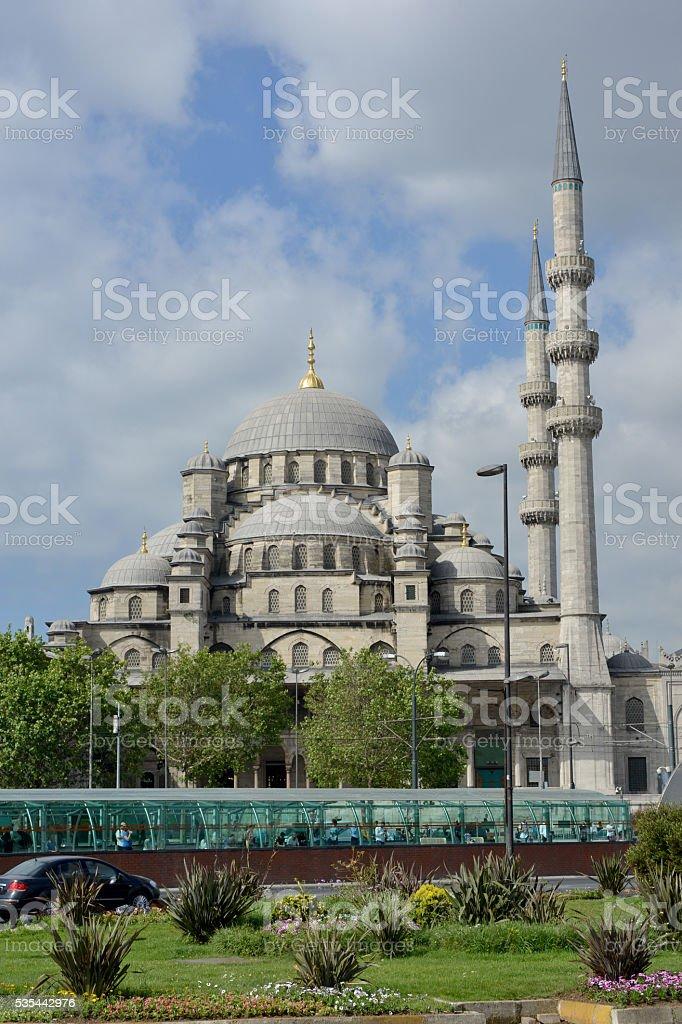 Suleymaniye Mosque - Istanbul stock photo