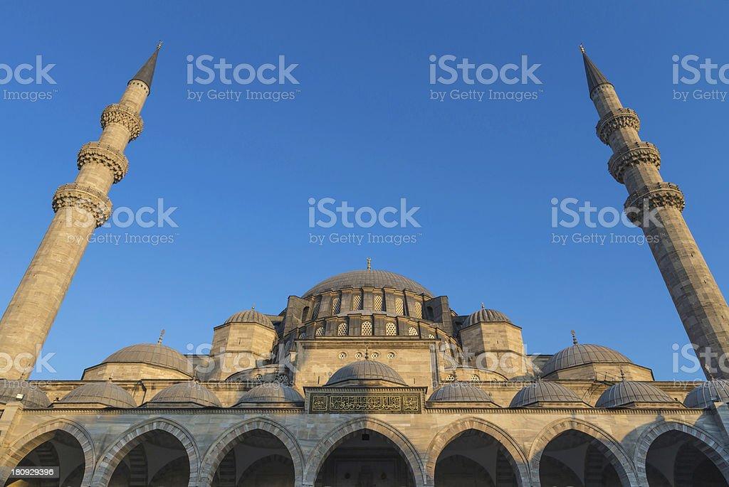 Suleymaniye Mosque, Istanbul, Turkey royalty-free stock photo