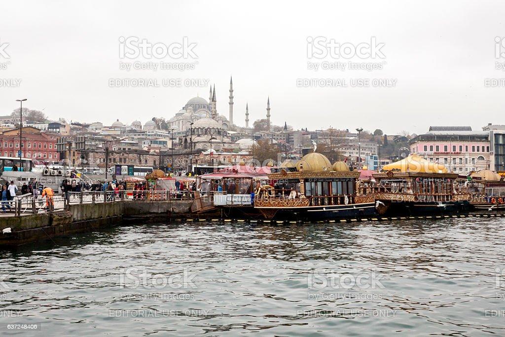 Suleymaniye Mosque. Istanbul. Turkey. stock photo
