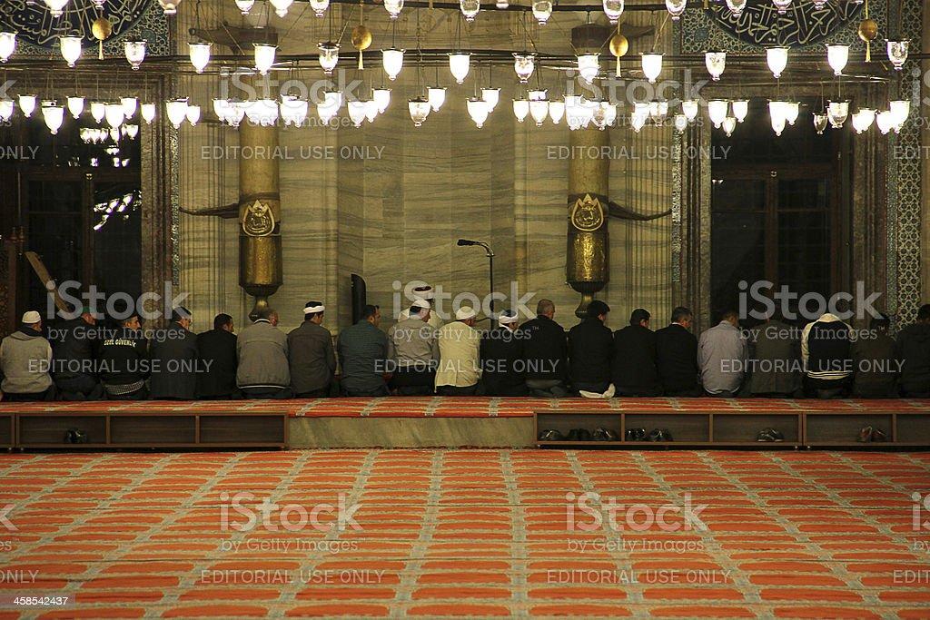 Suleymaniye Mosque royalty-free stock photo