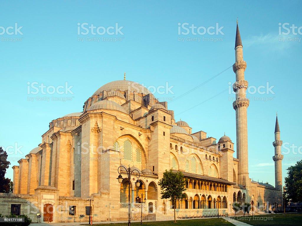 Suleymaniye Mosque stock photo