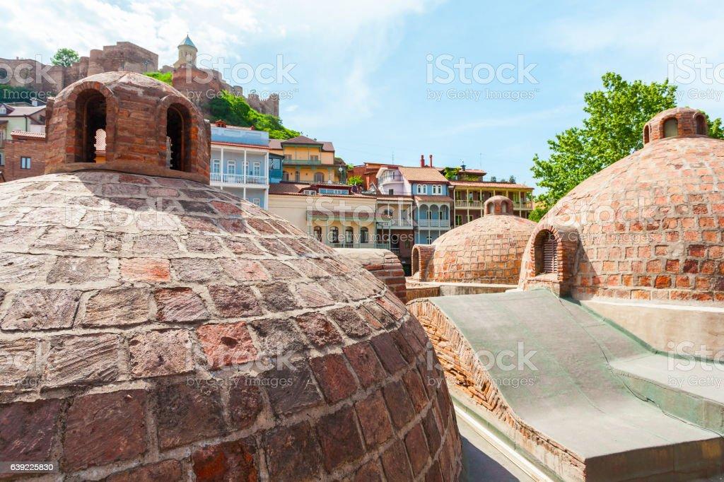 Sulfur baths in Tbilisi, Georgia stock photo
