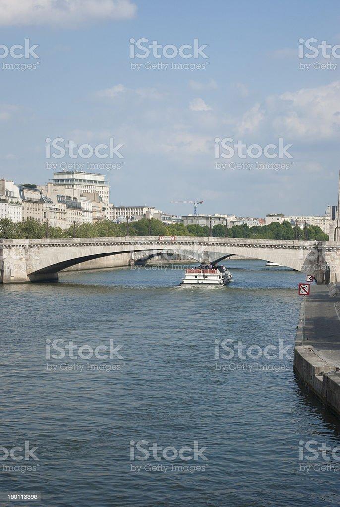 Sully bridge stock photo