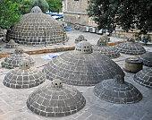 Sulphur bath in Baku old town