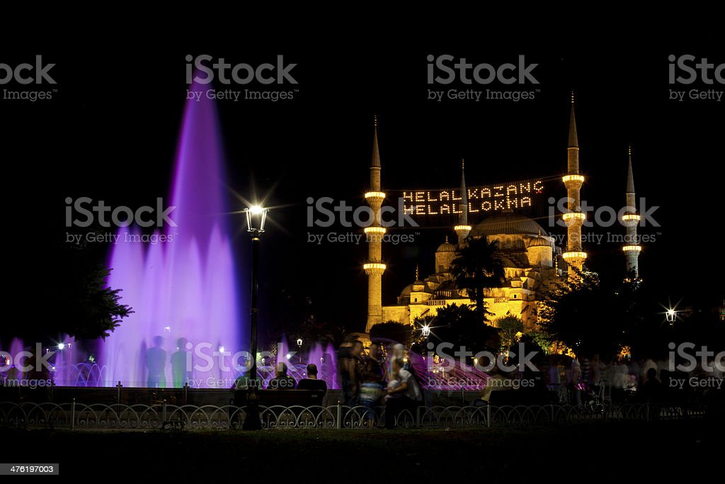 Sultan Ahmed, Istanbul royalty-free stock photo
