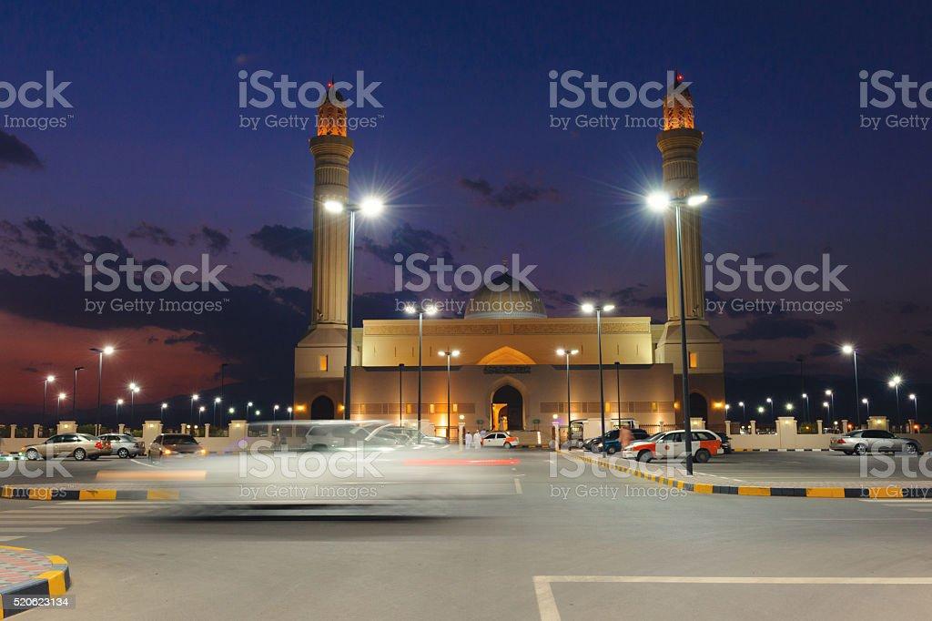 Sultan Qaboos Mosque in Sur stock photo