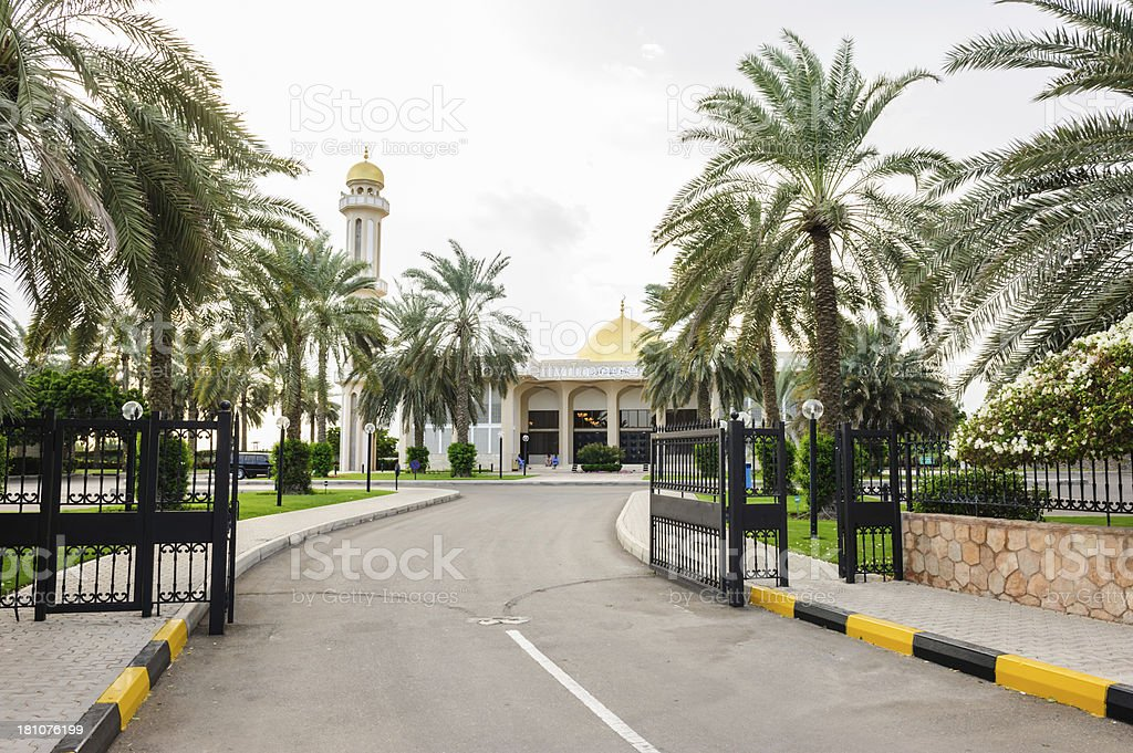 Sultan Qaboos Mosque royalty-free stock photo