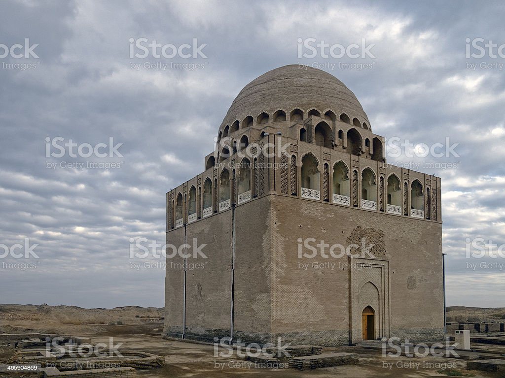 Sultan Sanjar mausoleum royalty-free stock photo