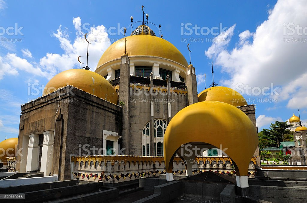 Sultan Sulaiman Royal Mosque stock photo