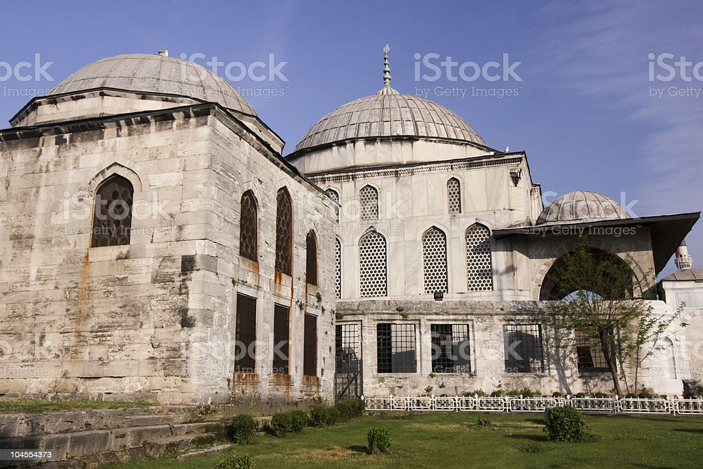 Sultanahmet District in Istanbul, Turkey stock photo