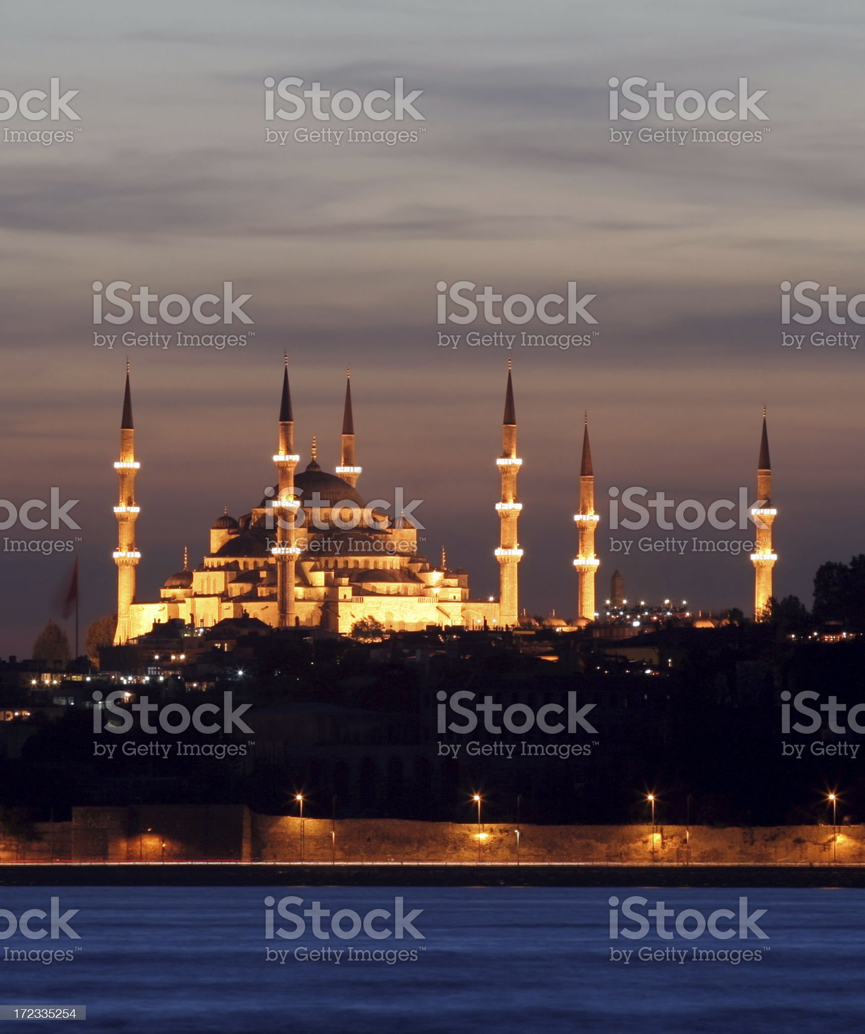 Sultanahmet mosque royalty-free stock photo